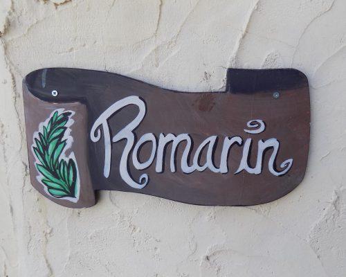ROMARIN 0 ENTREE
